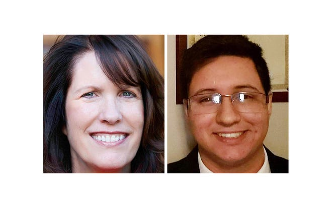 Cheryl Musgrave and Gabe Whitley