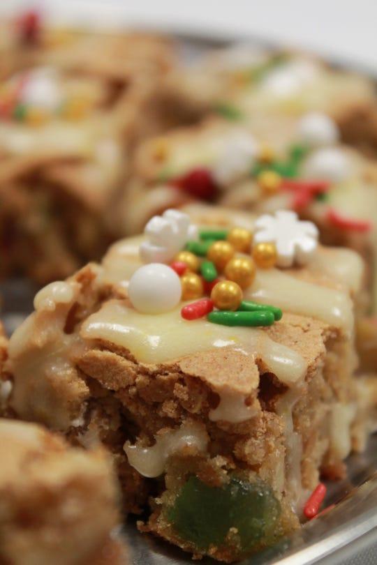 Holiday Spice Drop Bars