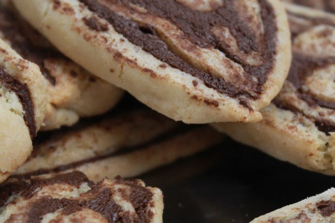 Truly Chocolate Pinwheel Cookies