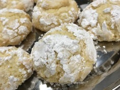 Lemon Burst cookies are just one of 14 recipes rounded up from Wisconsin home bakers for the USA TODAY NETWORK-Wisconsin Christmas cookie nice list.