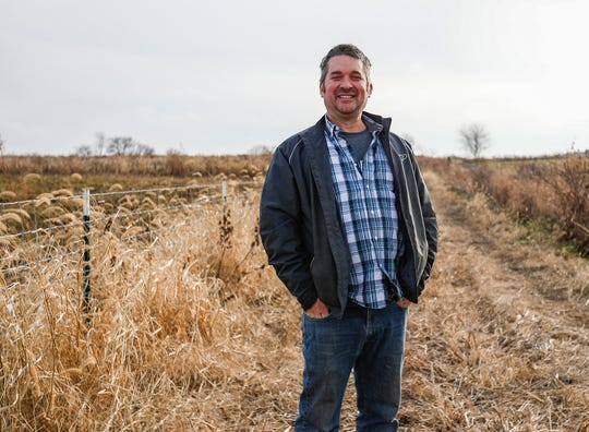 Fourth-generation hog farmer Greg Gunthorp promotes regenerative farming practices, because he believes the practices offers more opportunity for families to preserve their land for future generations.
