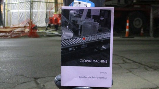 """Clown Machine"" a book of poetry from Iowa City poet Jennifer MacBain-Stephens."