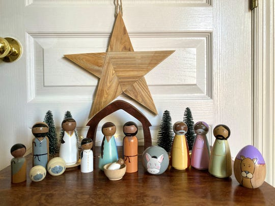Hannah Kline creates Nativity scenes that are break-proof and perfect for children to touch.