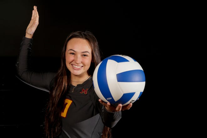 McCutcheon's Brooke Humphrey is the 2019 Journal & Courier Big School Volleyball Player of the Year.