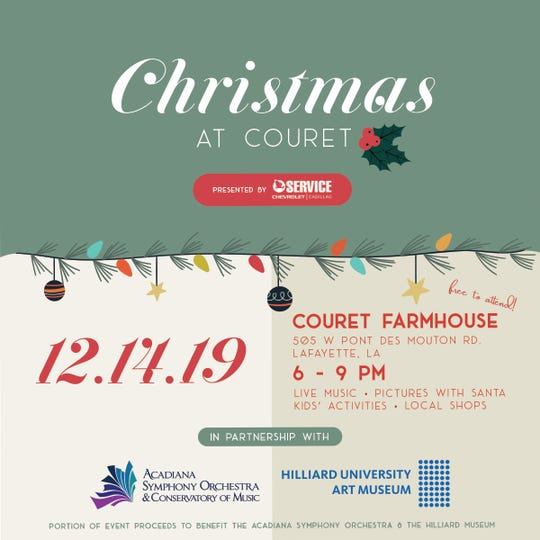 From a Santa-themed bar crawl to a family oriented Christmas farm, this holiday season has something for everyone. Couret Farms, an upper Lafayette neighborhood off of W. Pont des Mouton, will have its annual Christmas at Couret event, Dec. 14from 6 p.m. to 9 p.m. The event is free, family friendly, and open to the public.