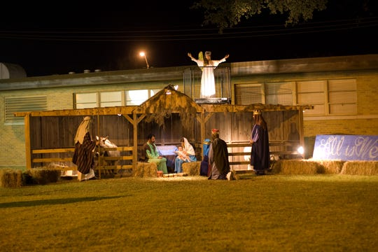 A living nativity scene will be hosted Dec.14to help raise money for Catholic Charities of Acadiana. Last years nativity gives a glimpse of whats to come this holiday season. Sponsors are still needed for the event.