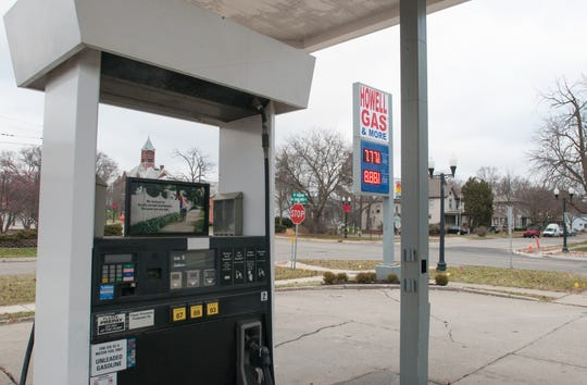 The gas station at Barnard Street and Grand River Avenue in downtown Howell, long vacant, shows signs Friday, Dec. 6, 2019 of reopening for business.