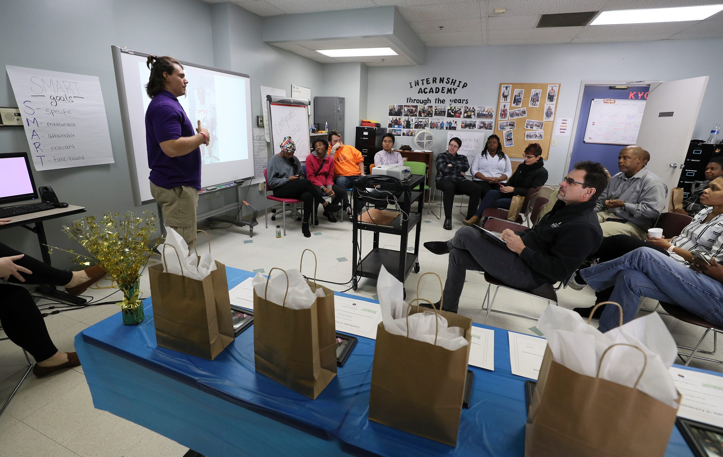 The internship program though the Kentucky Youth Career Center has graduated roughly 80 students.