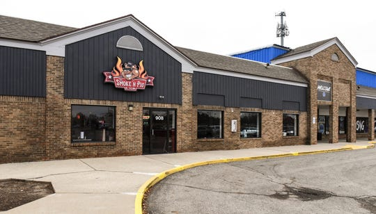 The Smoke 'N Pig BBQ has opened a new brick and mortar restaurant in Delta Township at 908 Elmwood Rd.