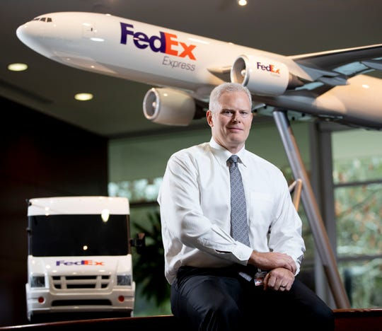 Richard Smith, regional president and executive vice president of the U.S. domestic and U.S. international region for FedEx Express.