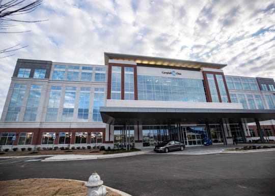Campbell Clinic opens a 120,000 square-feet new physical therapy and orthopedic surgery center in Germantown, Tenn., Thursday, Dec. 5, 2019.