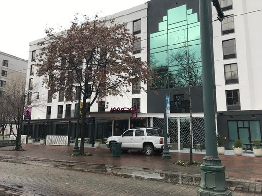 The Moxy Hotel opened Friday, Dec. 6, on North Main Street in Downtown Memphis.