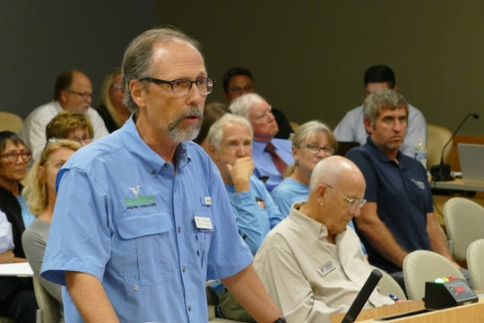 """Brad Cornell, policy associate of Audubon Everglades, said during a Marco Island City Council meeting on Dec. 2 the proposed Safe Harbor Management initiative is part of a research program. """"We are trying to figure out whether this is an effective way to stabilize an urban owl population in the state of Florida,"""" Cornell said."""