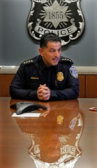 Milwaukee Police Chief Alfonso Morales talks about his tenure and why he wants to serve a full term during an interview Dec. 4.