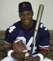 Bo Jackson was the first athlete selected to all-star games in two major sports.