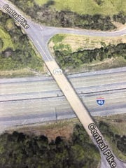 A new interchange at Central Pike and Interstate 40 in Mt. Juliet is among road projects in Wilson County that are being planned or are under construction.
