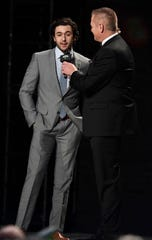 Chase Elliott accepts the Most Popular Driver Award during the 2019 NASCAR Cup Series Awards at Music City Center Thursday, Dec. 5, 2019 in Nashville, Tenn.