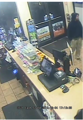 Police are searching for a man who robbed a Hermitage MAPCO on Wednesday, Dec. 4, 2019.