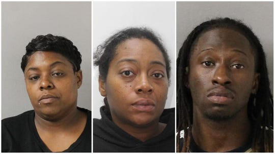 Danielle Horton, Brandi Lyonn and Tyrone Anderson, charged with being accessories after the fact and facilitating Calvin Howse's escape from juvenile detention center.