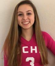 Olivia D'Agostino, Barron volleyball