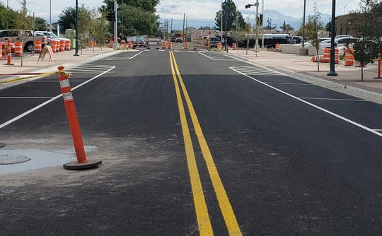Road striping is set to begin on various Las Cruces streets.
