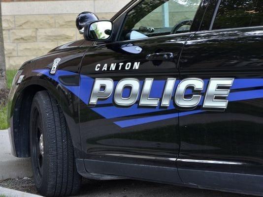 Canton Police vehicle.