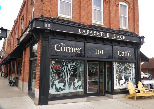 The Corner Caffé at 101 N. Lafayette in South Lyon now has a wine bar for its patrons.