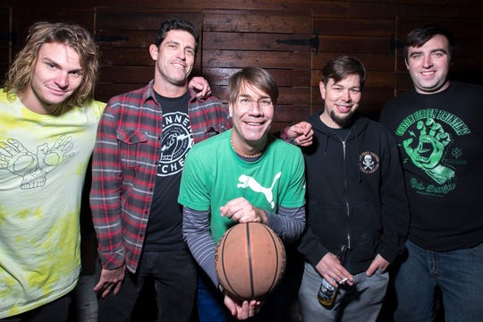 Guttermouth will perform at The Hood Bar and Pizza in Palm Desert, Calif. on Dec. 14, 2019.