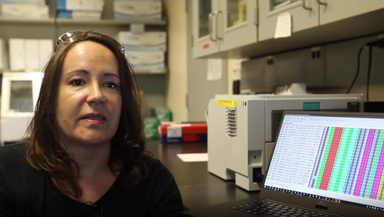 NAU evolutionary biologist Crystal Hepp is studying mosquito DNA to fight West Nile virus.
