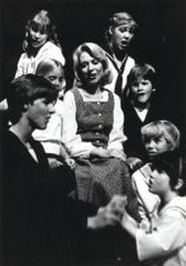 "Mary Jo West in Phoenix Little Theatre's 1982 production of ""The Sound of Music."""