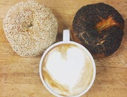 Bagels and coffee from Odelay Bagel Co. in Ahwatukee Foothills.