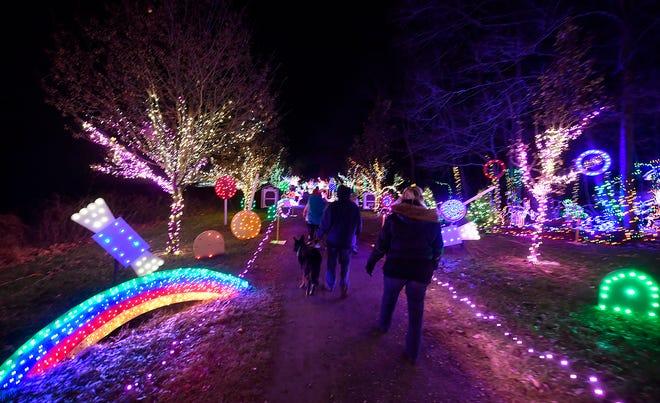 Christmas Magic at Rocky Ridge County Park, Thursday, December 5, 2019.John A. Pavoncello photo