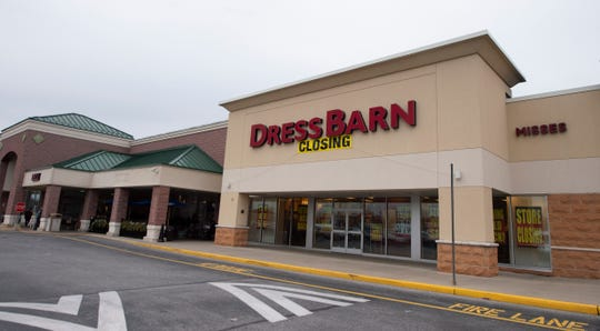 Dress Barn is closing all of its 544 stores nationwide on Thursday, Dec. 26, 2019 including the West Manchester Township store located at 1249 Carlisle Road.