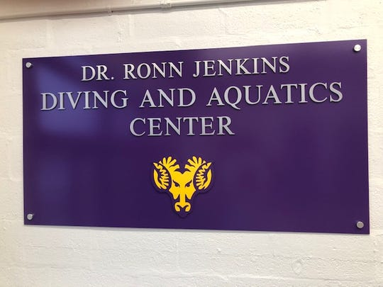 Dr. Ronn Jenkins Diving and Aquatics Center is the new name of the home of the West Chester University Swimming & Diving teams.