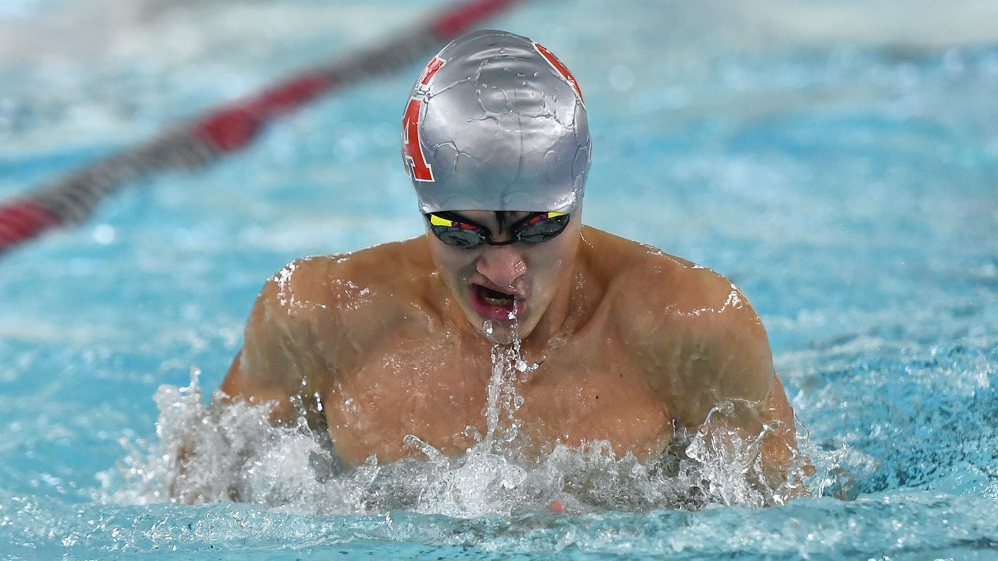 Section V Boys Swimming Rankings: Large school coaches poll