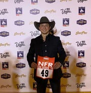 Ty Harris is No. 49 in the National Finals Rodeo, entered in tie-down roping