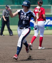Former Alabama standout Haylie McCleney will be a member of the USA Women's National Team that will play in Shreveport's Cargill Park April 15.