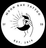 Logo for Moon Rae Tattoo