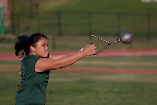 FAMU thrower Alelee Figueroa is one of the leaders for the track & field team. She'll be competing in the indoor season-opening meet at Clemson on Dec. 7.