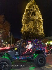 Tulare Christmas Parade on Thursday, December 5, 2019.
