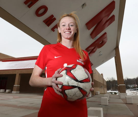 North Rockland's Kelly Brady, Rockland Player of the Year Dec. 6, 2019.