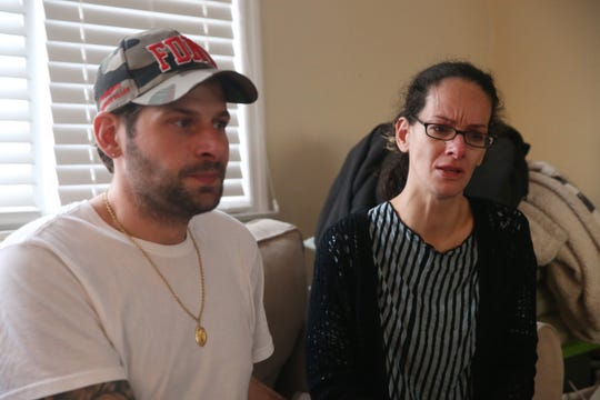 Michael Malone and Jennifer Solivan lost everything when their Lake Carmel home in Kent burned on Dec. 3. They are staying at Malone's brother's home in Wallkill while they figure out their next move.