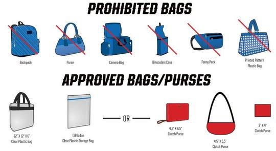 Bag restrictions will go into effect Dec. 19 at MSU Texas' D.L. Ligon Coliseum for home basketball games.