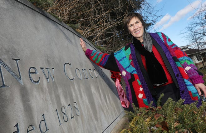 Jennifer Lyle was elected mayor of New Concord in November. She will be the village's first female mayor.