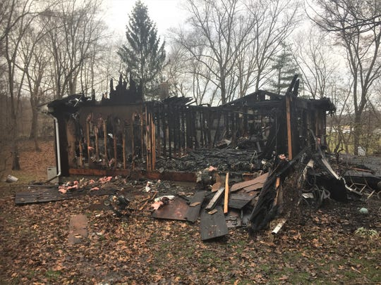 An early morning fire sent an elderly Frazeysburg man to the hospital for treatment from smoke inhalation Friday.