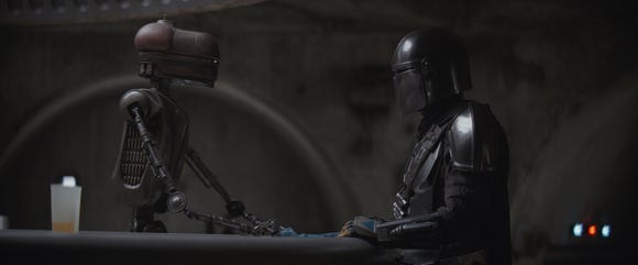 A scene from The Mandalorian Chapter 5