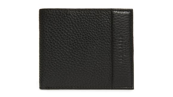 Carabas Coin Pocket Leather Bifold Wallet