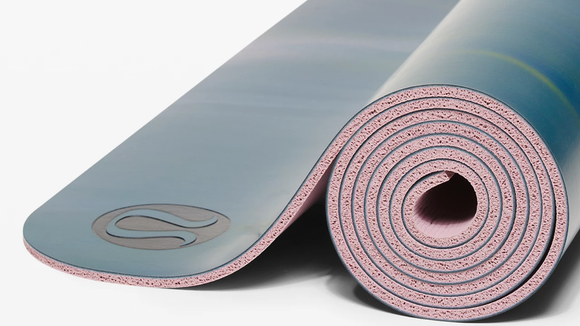Our favorite yoga mat from Lululemon is ideal for toting to class or stretching out on at home.
