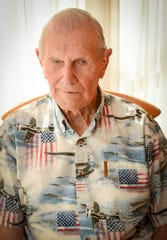 John Schleicher, 97, survived the Pearl Harbor bombing because he was in church that Sunday morning. The Nokomis  resident never talked much about serving during WWII and did not even tell his son, Dick, that he had been at Pearl Harbor until a few days before 73rd anniversary of the attack.
