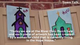 Art benefits Hope House residents